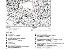 凱滙(第二期) 位置圖、鳥瞰照片、分區計劃大綱圖及布局圖