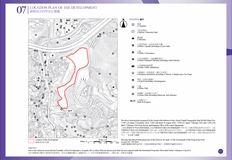 天鑽 位置圖、鳥瞰照片、分區計劃大綱圖及布局圖