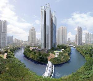瑞雅嘉苑豪華公寓以新加坡河畔景色為主打