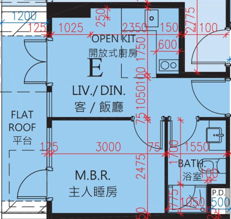 逸璟‧龍灣樓書上網 261方呎特色戶料區內最細