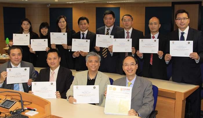 239主管完成「優質顧客服務」證書課程