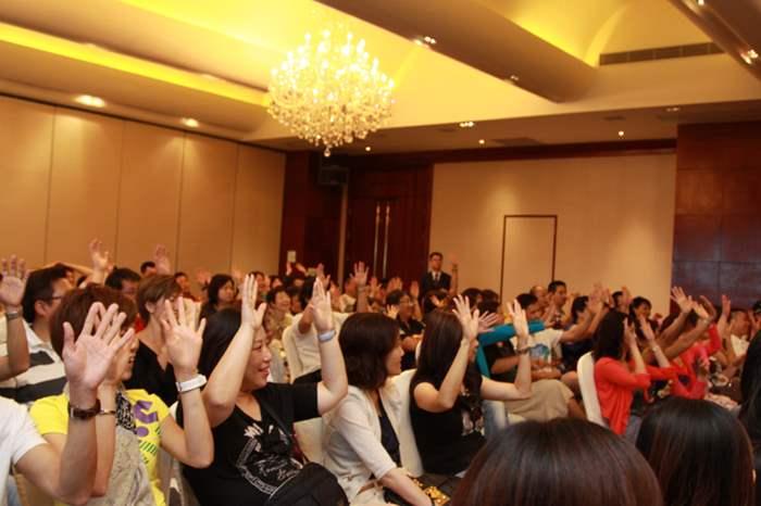 精英們於講座中互動性強,所有精英們均積極參與環節。