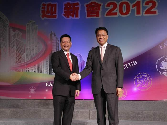 2012年度精英會會長由何偉強先生接任
