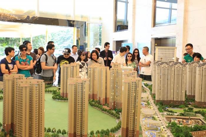 心海洲項目包括住宅及商業部份, 又近澳門, 看來精英們對項目甚有興趣。