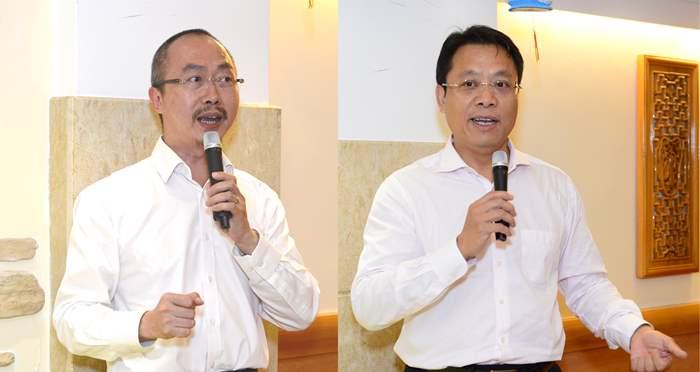 晚宴由中原集團主席黎明楷先生及中原地產亞太區總裁黃偉雄先生致辭揭開序幕。