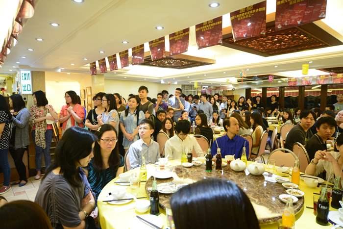 全晚共有二百多名員工聚首一堂。