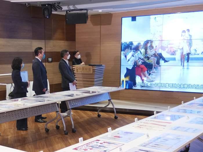 中原連續三年贊助「全港中學生時裝設計比賽」 成就學生初嘗設計師之路
