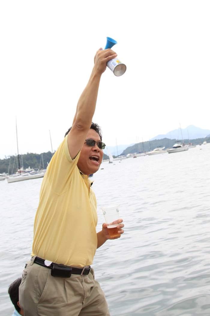 中原贊助24小時慈善小艇賽