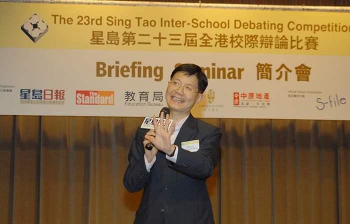 郭Sir 分享演講心得  助學生備戰辯論賽