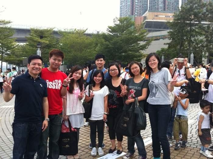 「心睇•力行」國際白杖日2012步行籌款