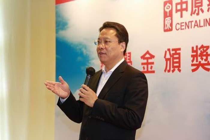 中原慈善基金主席黃偉雄感謝各界對中原慈善基金奬學金的認同。