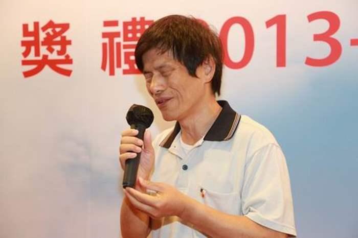 中原慈善基金董事莊陳有鼓勵同學克服自身的弱點,迎難而上。
