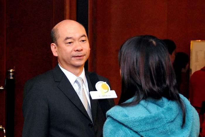 陳永傑先生代理品牌接受訪問。