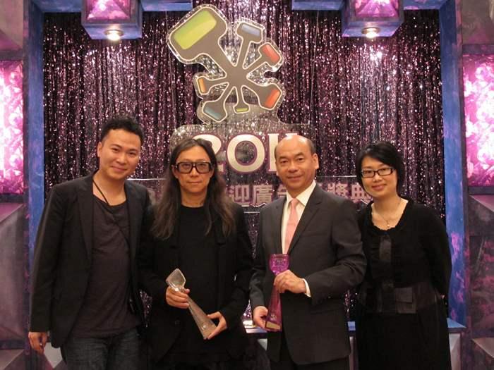 中原亞太區住宅部董事總經理陳永傑先生代表中原接受殊榮,廣告公司代表亦有到場領獎,分享廣告成功之喜悅。