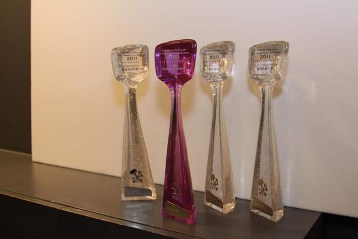中原電視廣告囊括「2011 TVB最受歡迎電視廣告大獎」四大獎項。