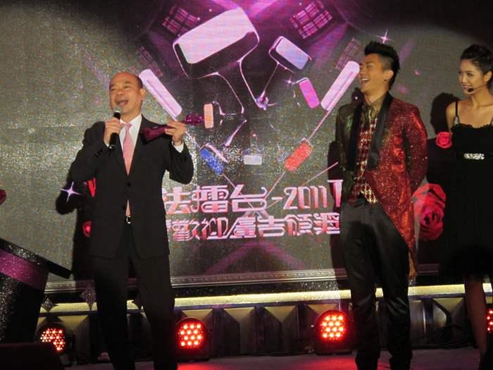 陳永傑先生代表中原發表得獎感受