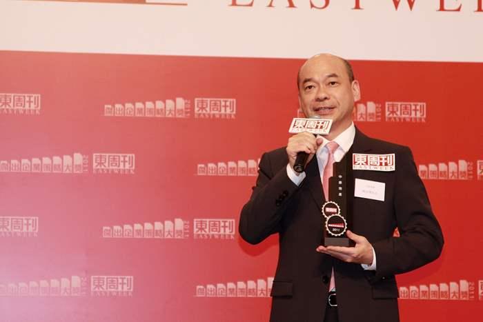 陳永傑先生代表中原分享品牌在企業策略方面的心得。