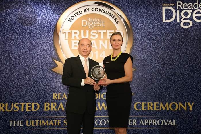 亞洲《讀者文摘》地區廣告總監Sheron White擔任頒獎嘉賓。
