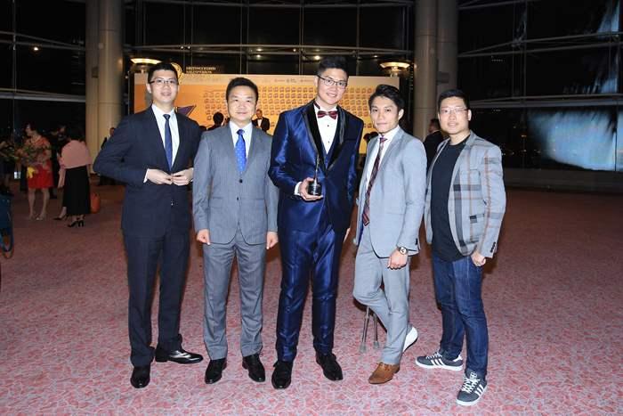 DSA頒獎禮 中原集團獨領風騷 41名精英出賽 百分百全勝 得獎人數歷年之冠 成為獲獎人數最多的機構
