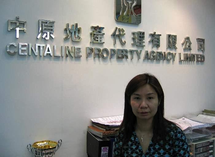 中原李麗霞不惜放下工作、苦候三天,終成功為客購得呎造逾萬元的「半山壹號」,備受讚賞。