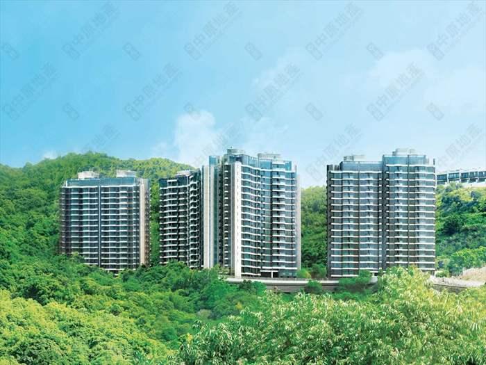 新界東豪宅六區登記二手私人住宅買賣合約統計(2021年8月)