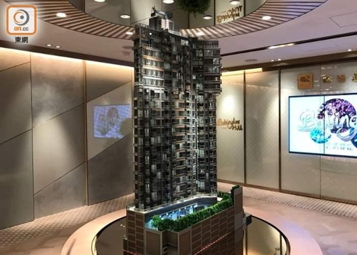 巴丙頓山加推24伙 頂層折實呎價5.3萬挑戰新高