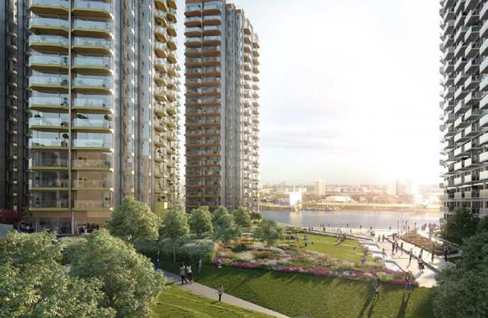 倫敦宜居社區新貴Woolwich 泰晤士河畔 享高鐵效應  Royal Arsenal Riverside最新一期Navigator Wharf售價45萬英鎊起